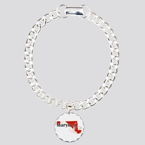 Maryland Diver Charm Bracelet, One Charm