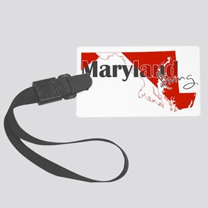 Maryland Diver Large Luggage Tag