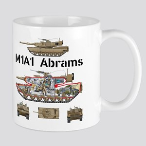 M1A1 Abrams MBT Mug