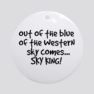 Sky King Ornament (Round)