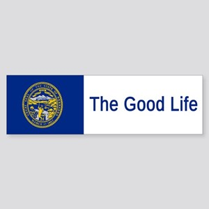 Nebraska Motto #3 Bumper Sticker