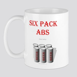 Six Pack Abs (beer belly) Mug