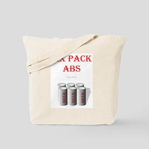 Six Pack Abs (beer belly) Tote Bag