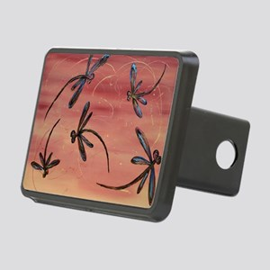Dragonfly Pomegranate Rectangular Hitch Cover