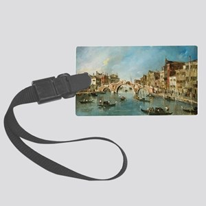 View on the Cannaregio Canal Ven Large Luggage Tag
