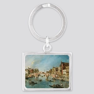 View on the Cannaregio Canal Ve Landscape Keychain