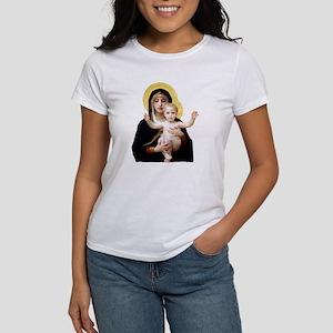 Virgin of the Lilies Women's T-Shirt