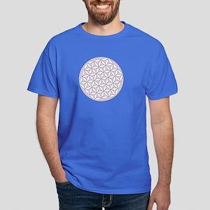 Flower of Life Lilac Dark T-Shirt