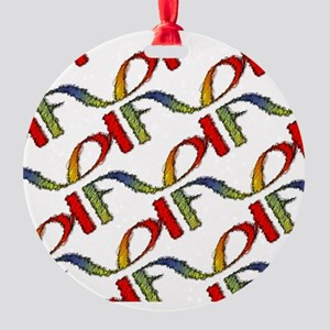 FD FUNRAISE-Designs Round Ornament