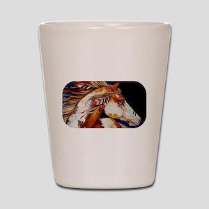 Spirit Horse Shot Glass