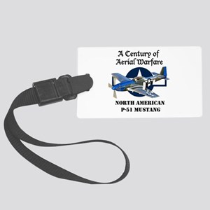 P-51 Mustang Luggage Tag