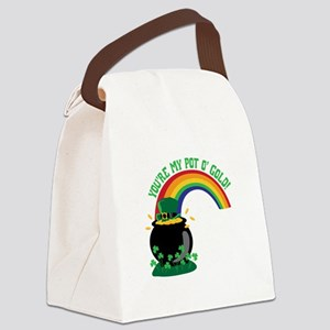 YOURE MY POT O GOLD! Canvas Lunch Bag