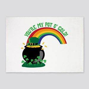 YOURE MY POT O GOLD! 5'x7'Area Rug