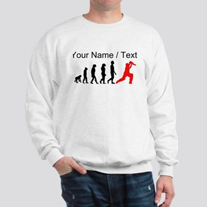 Custom Cricket Evolution (Red) Jumper
