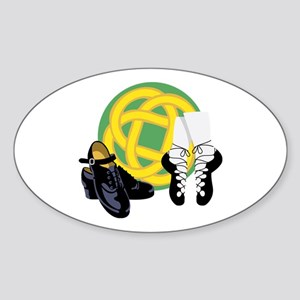 Celtic Knot Irish Shoes Sticker