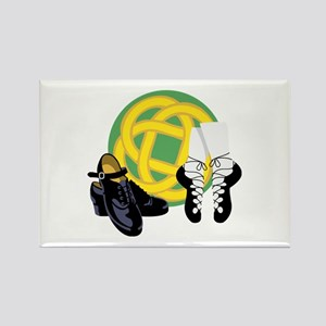 Celtic Knot Irish Shoes Magnets