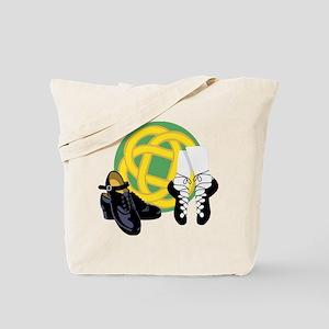 Celtic Knot Irish Shoes Tote Bag