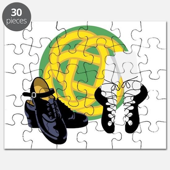 Celtic Knot Irish Shoes Puzzle