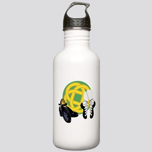Celtic Knot Irish Shoes Water Bottle