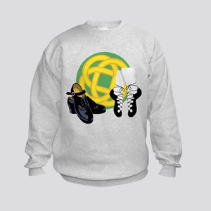 Celtic Knot Irish Shoes Sweatshirt