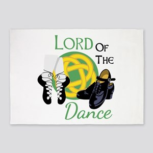 LORD OF THE Dance 5'x7'Area Rug