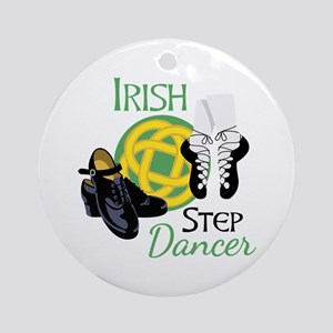 IRISH STEP Dancer Ornament (Round)