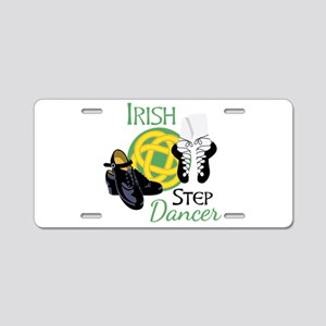 IRISH STEP Dancer Aluminum License Plate