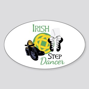 IRISH STEP Dancer Sticker