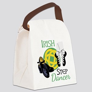IRISH STEP Dancer Canvas Lunch Bag
