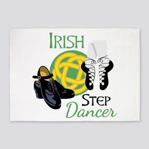 IRISH STEP Dancer 5'x7'Area Rug