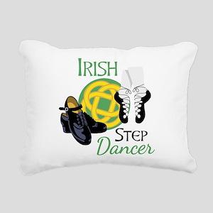 IRISH STEP Dancer Rectangular Canvas Pillow