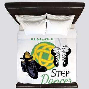 IRISH STEP Dancer King Duvet