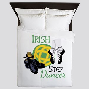 IRISH STEP Dancer Queen Duvet