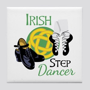 IRISH STEP Dancer Tile Coaster