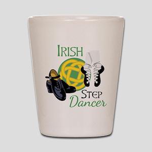 IRISH STEP Dancer Shot Glass