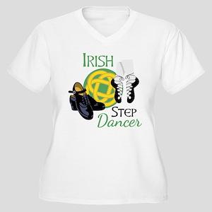 IRISH STEP Dancer Plus Size T-Shirt
