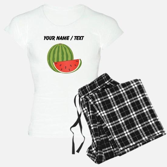 Custom Watermelon pajamas
