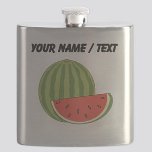 Custom Watermelon Flask