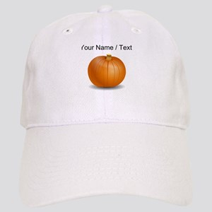 Custom Orange Pumpkin Cap