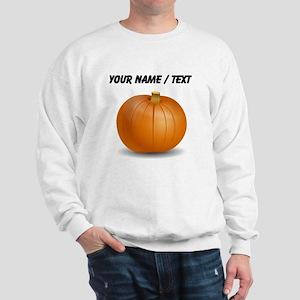 Custom Orange Pumpkin Jumper