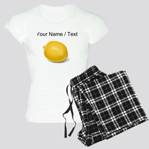 Custom Yellow Lemon pajamas