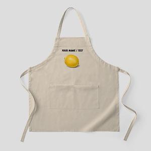 Custom Yellow Lemon Apron