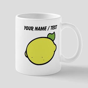 Custom Lemon Drawing Mugs
