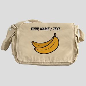 Custom Bananas Messenger Bag