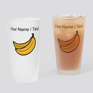 Custom Bananas Drinking Glass