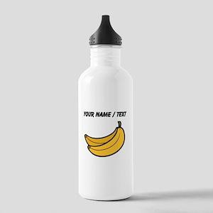 Custom Bananas Sports Water Bottle