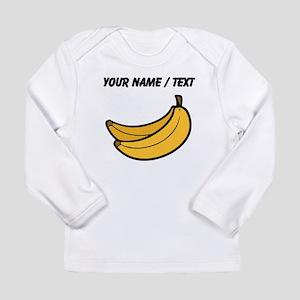Custom Bananas Long Sleeve T-Shirt