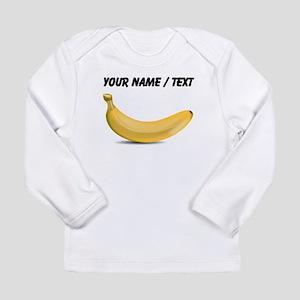 Custom Yellow Banana Long Sleeve T-Shirt