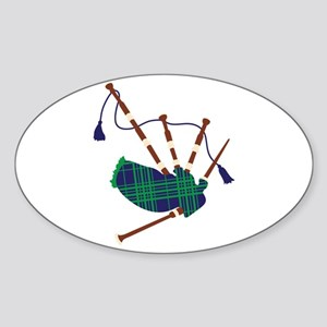 Scottish Bagpipes Sticker