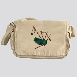 Scottish Bagpipes Messenger Bag